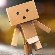 Danbo Character High Poly 3D Model, Full Rigged - clean 3d model