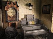Klassik Zimmer 3d model