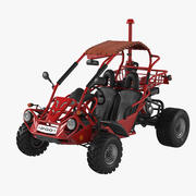 PGO Bugrider 200 Buggy 3d model