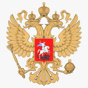 Rus arması 3d model