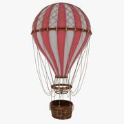 Vintage luchtballon 3d model