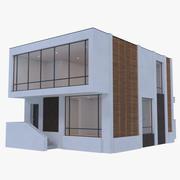 Modern House 12 ( Interior + Exterior ) 3d model