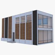 모던 하우스 11 (Interior + Exterior) 3d model