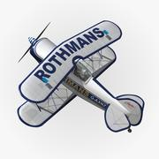 Pitts S1 Rothmans 3d model