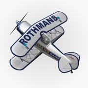 Питтс S1 Ротманс 3d model