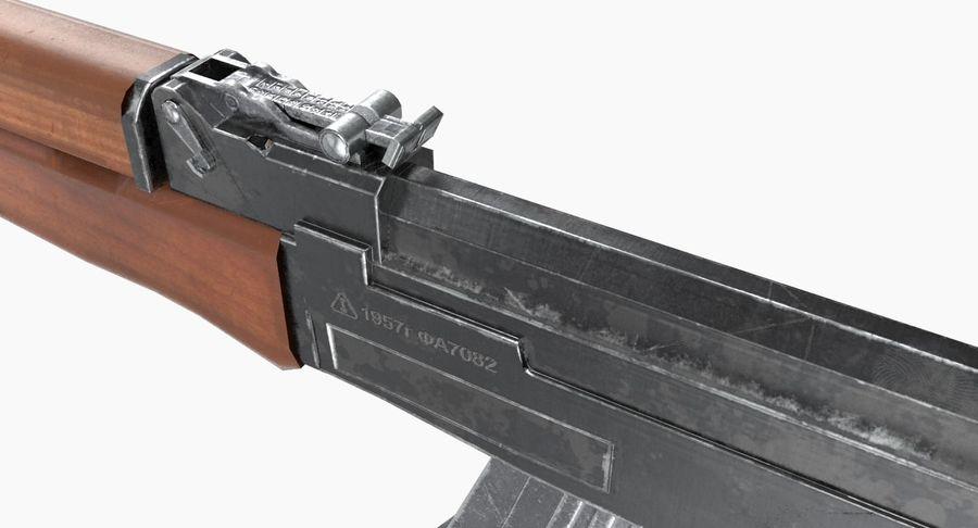 AK 47 royalty-free 3d model - Preview no. 15