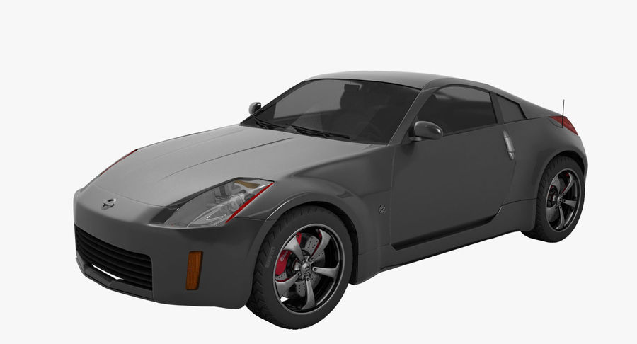 Nissan-350z royalty-free 3d model - Preview no. 1