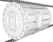Travel Tube 3d model