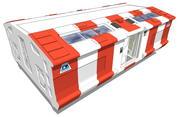 医疗吊舱 3d model