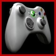 Xbox 360控制器 3d model