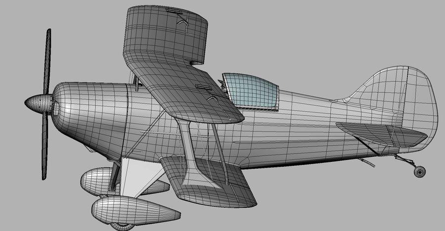 Pitts S1 JPS royalty-free 3d model - Preview no. 20