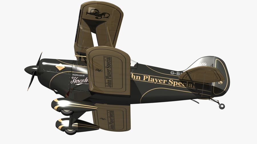 Pitts S1 JPS royalty-free 3d model - Preview no. 13
