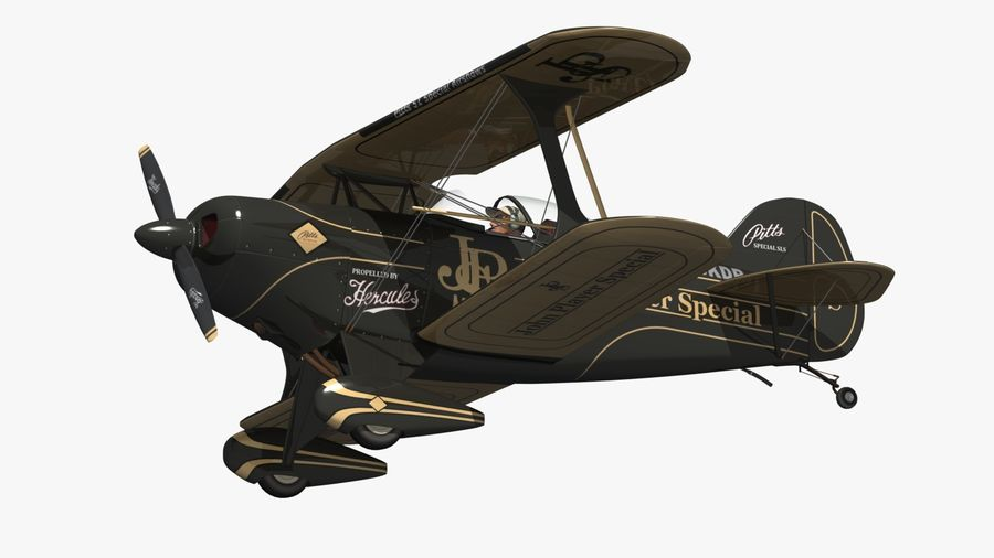 Pitts S1 JPS royalty-free 3d model - Preview no. 6
