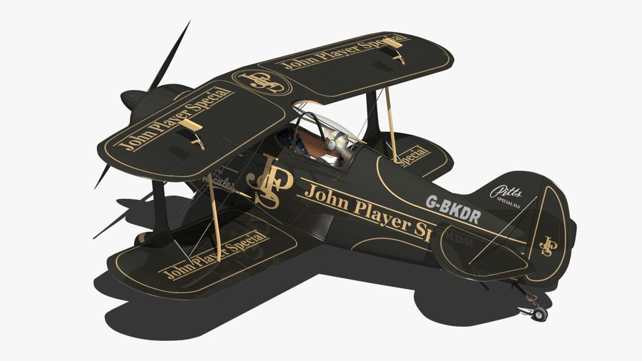 Pitts S1 JPS royalty-free 3d model - Preview no. 3