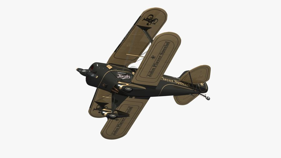Pitts S1 JPS royalty-free 3d model - Preview no. 7