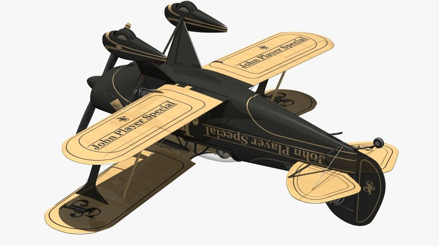 Pitts S1 JPS royalty-free 3d model - Preview no. 9