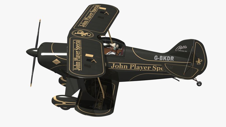 Pitts S1 JPS royalty-free 3d model - Preview no. 12