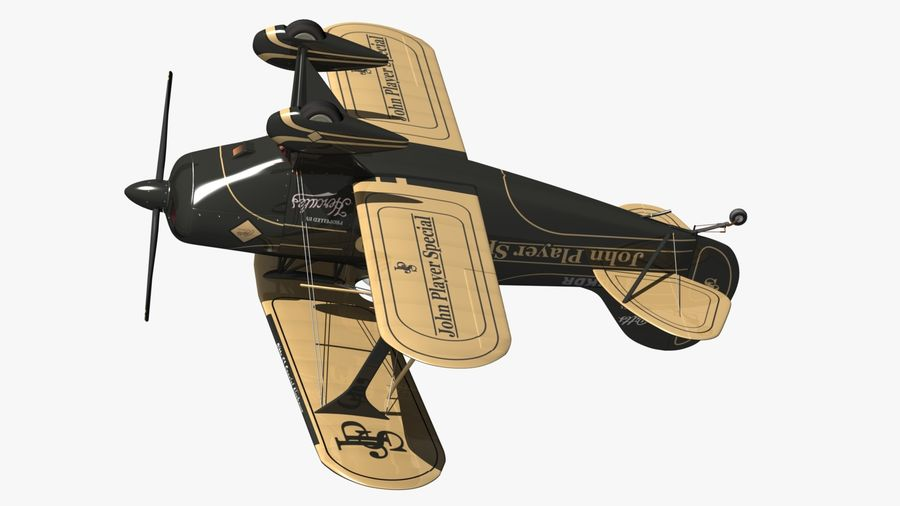 Pitts S1 JPS royalty-free 3d model - Preview no. 14