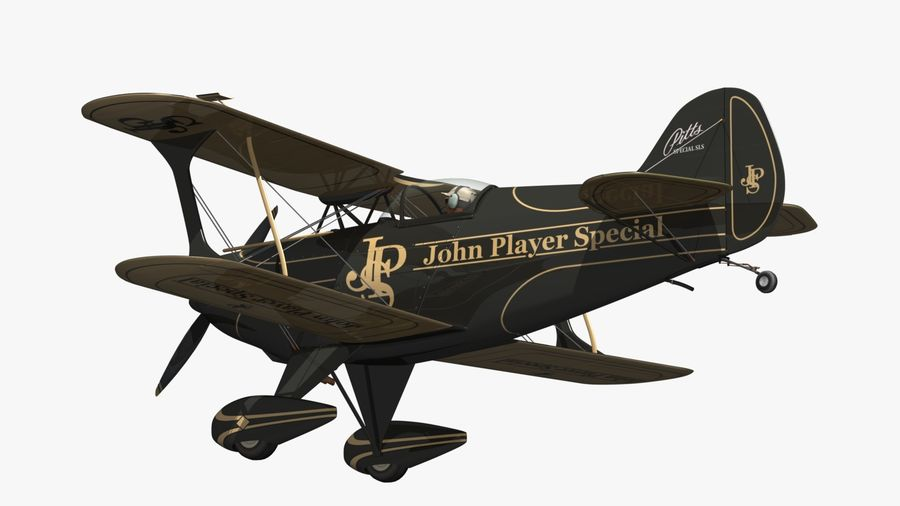 Pitts S1 JPS royalty-free 3d model - Preview no. 8