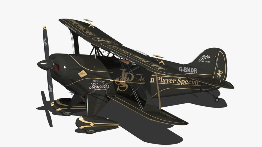 Pitts S1 JPS royalty-free 3d model - Preview no. 2