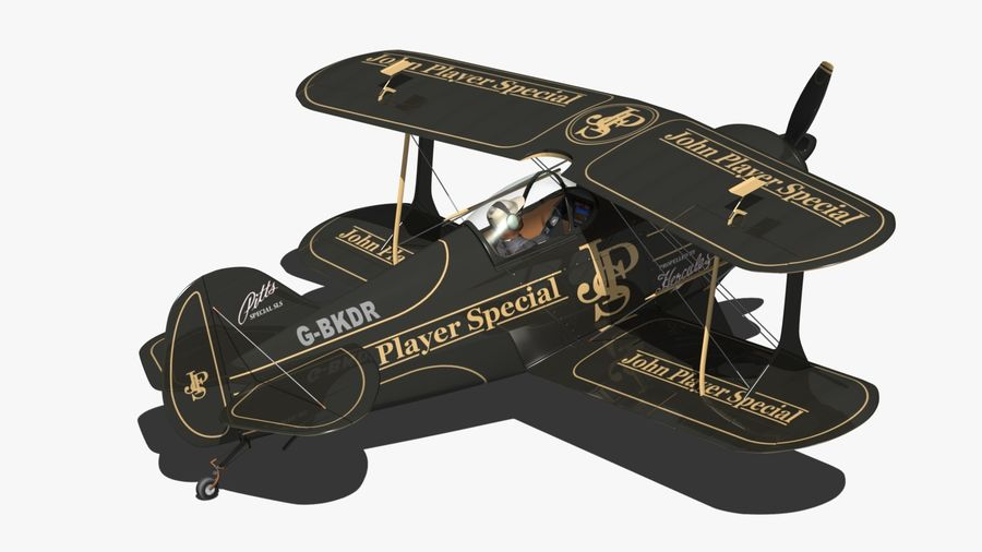 Pitts S1 JPS royalty-free 3d model - Preview no. 4