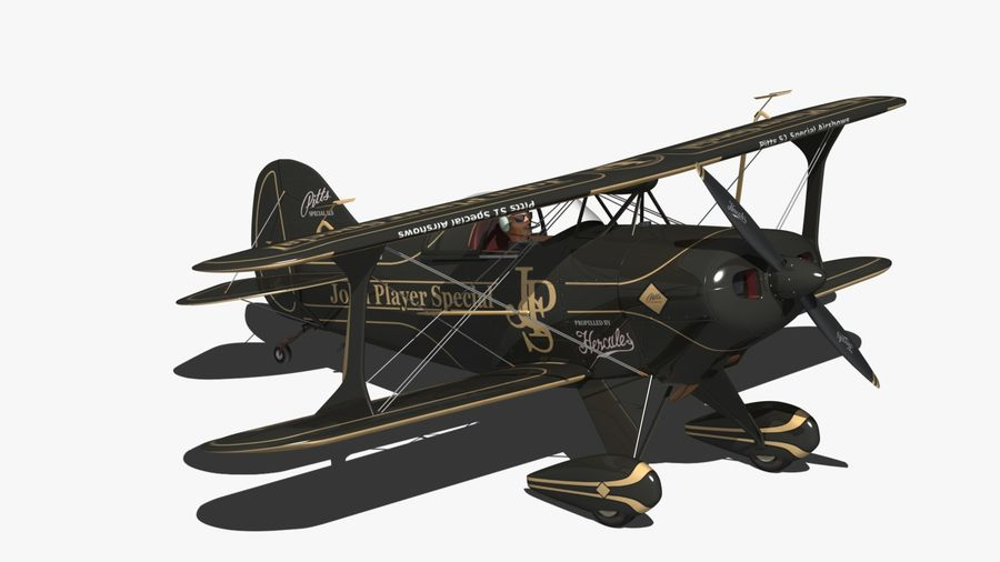 Pitts S1 JPS royalty-free 3d model - Preview no. 5