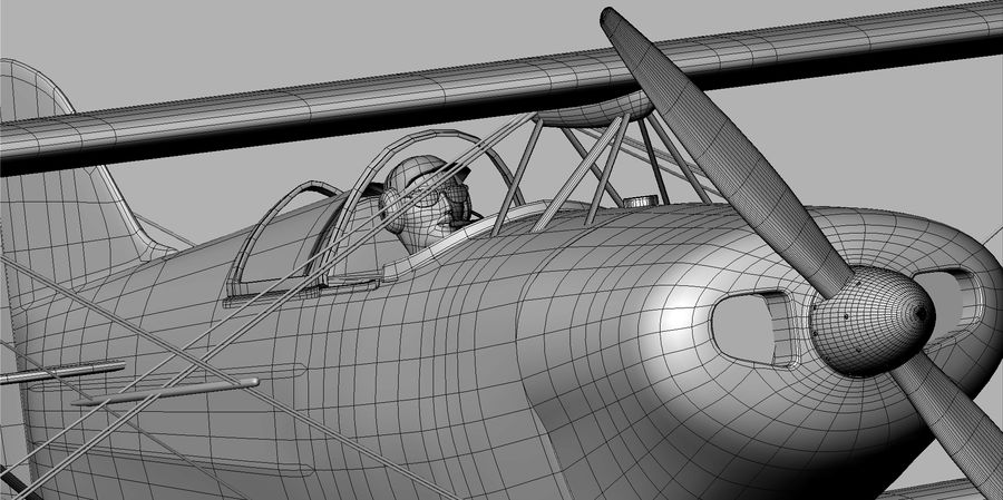 Pitts S1 JPS royalty-free 3d model - Preview no. 18