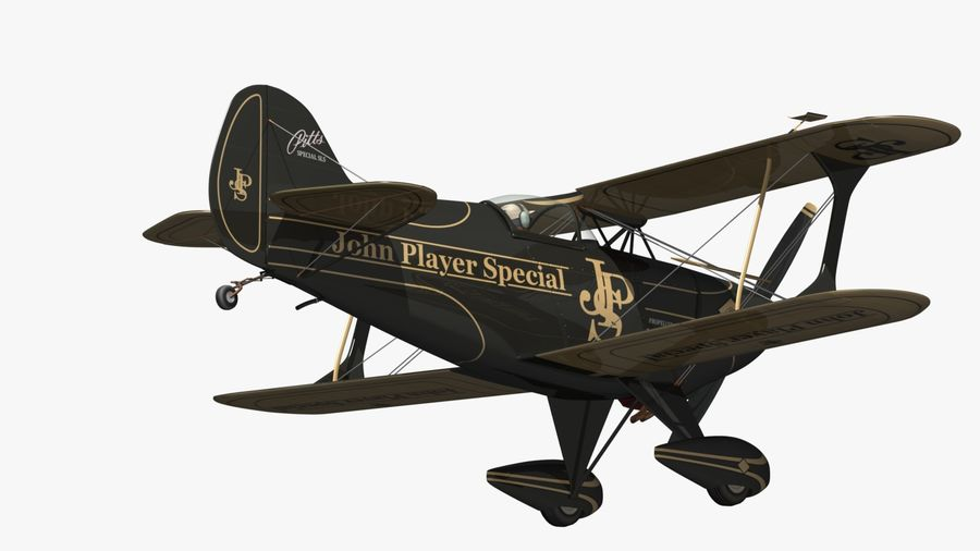 Pitts S1 JPS royalty-free 3d model - Preview no. 10