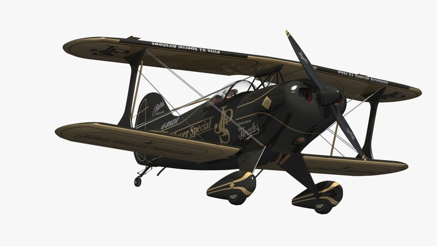 Pitts S1 JPS royalty-free 3d model - Preview no. 11