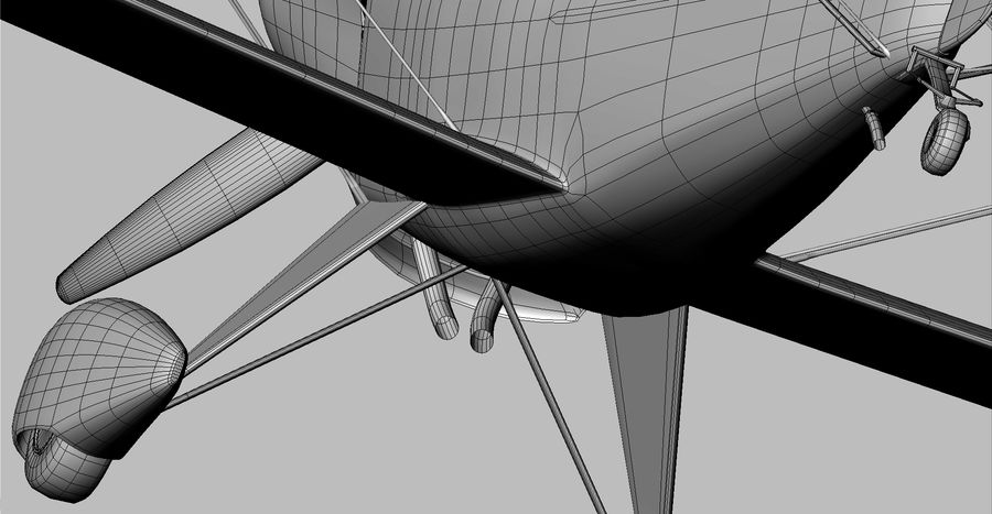 Pitts S1 JPS royalty-free 3d model - Preview no. 17