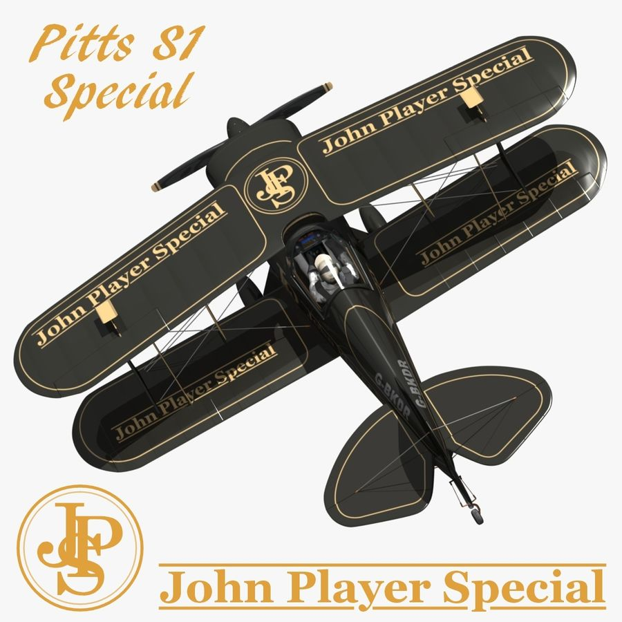 Pitts S1 JPS royalty-free 3d model - Preview no. 1