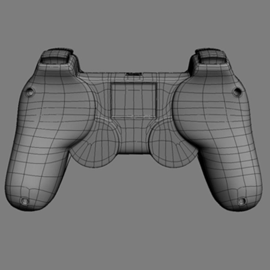Ps3 Controller Dualshock 3 3d Model 59 Lwo Max Ma Xsi Obj Fbx C4d 3ds Free3d