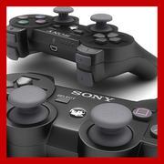 PS3控制器-Dualshock 3 3d model