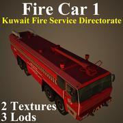 FIRE1 KUW 3d model