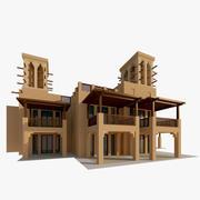 Arabiska Villa 3d model