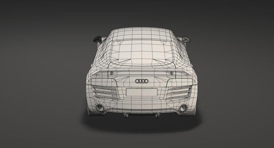 Audi r8 royalty-free 3d model - Preview no. 17