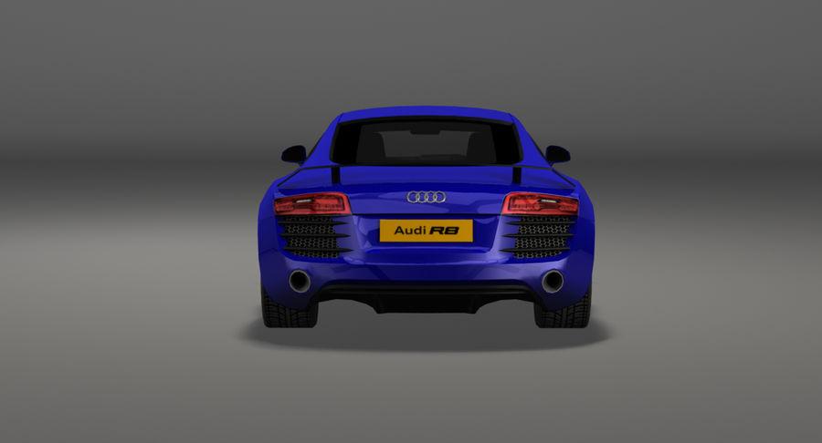 Audi R8 royalty-free 3d model - Preview no. 11