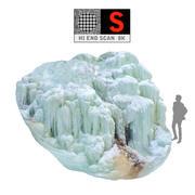 Zjawisko lodowego zjawiska natury (1) 3d model