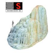 Icefall-fenomeen van de natuur (4) 3d model