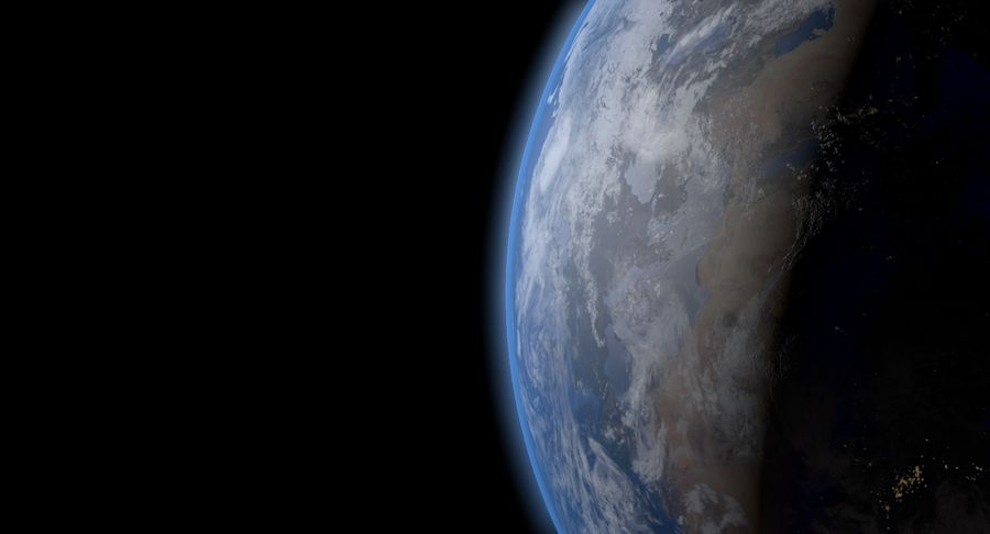 Earth - 30k Photorealistic royalty-free 3d model - Preview no. 4