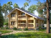Log Cabin House 3d model
