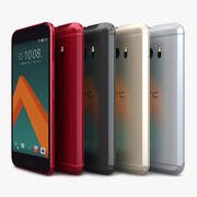 HTC 10 All Color 3d model