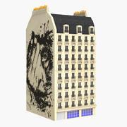 Parijse gebouw 3d model