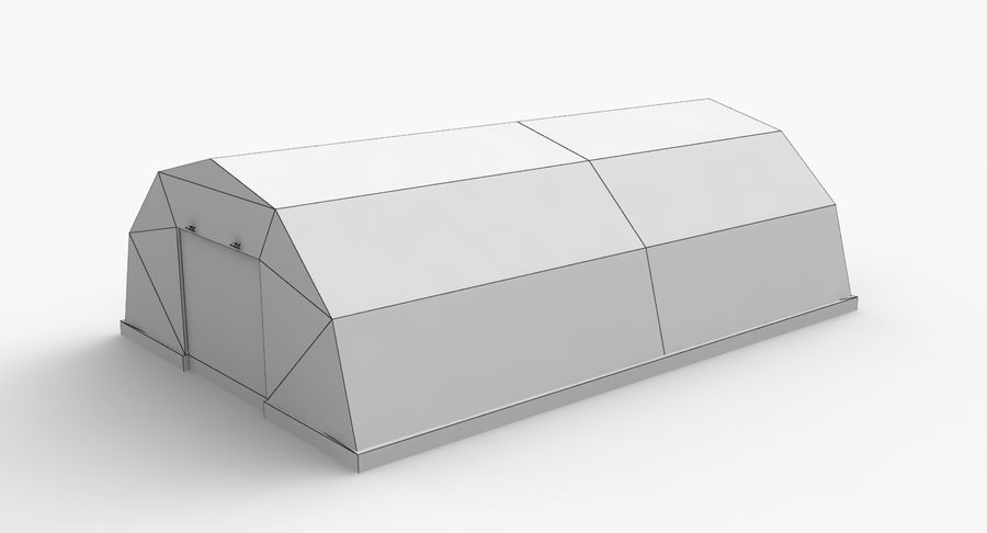 Hangars Collection royalty-free 3d model - Preview no. 18