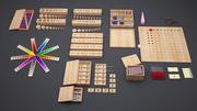 Materiais 3D Montessori 3d model