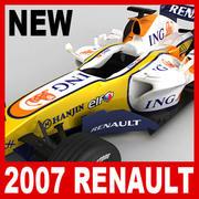 F1 2007 ING Renault R27 3d model