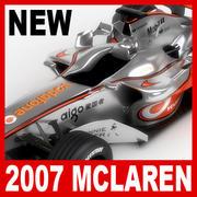 2007보다 폰 맥라렌 메르세데스 MP4-22 3d model