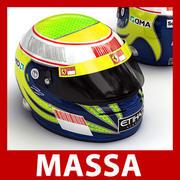 Felipe Massa F1 Helmet 3d model