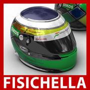 Giancarlo Fisichella F1 Helm 3d model