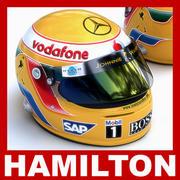 Helm F1 2007-2010 Lewis Hamilton 3d model